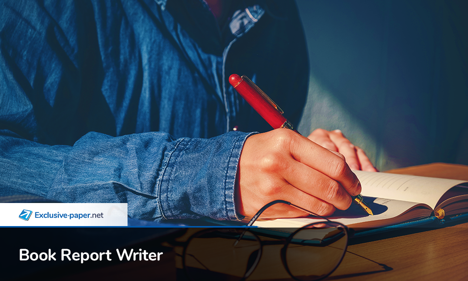 Exclusive Book Report Writer