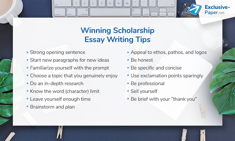 Winning Scholarship Essay Writing Tips
