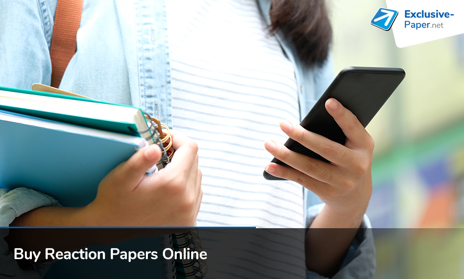 Buy Reaction Papers Online at Cheap Prices