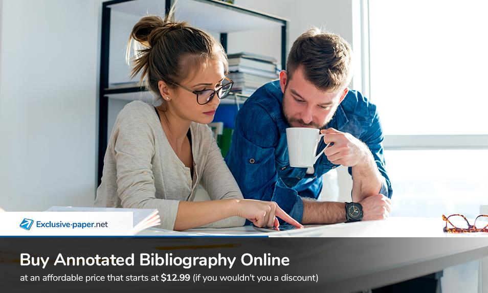Buy an Annotated Bibliography Online at Affordable Price