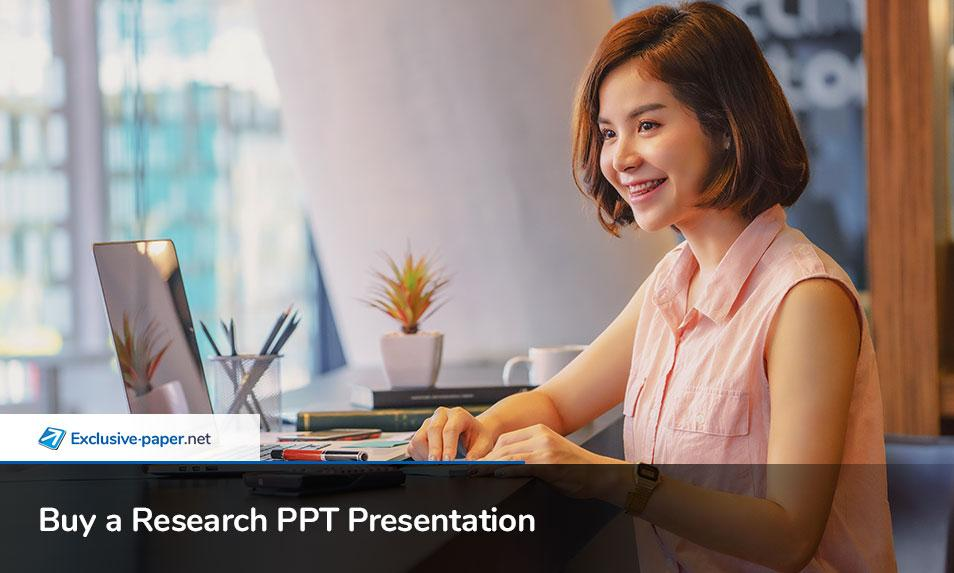 Buy a Research PPT Presentation Poster Online