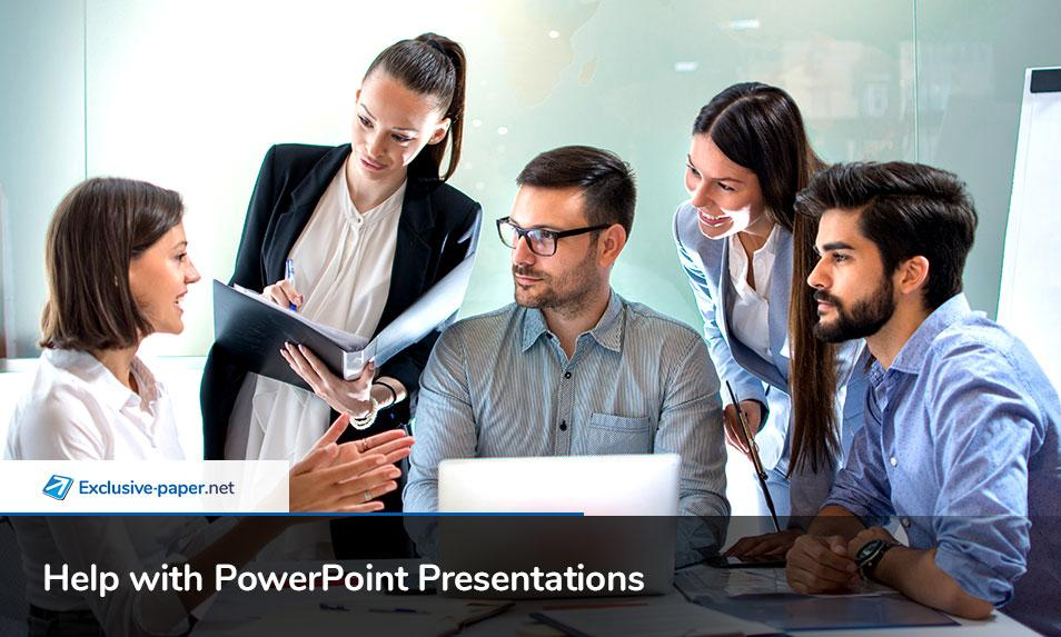 Online Help with PowerPoint Presentations
