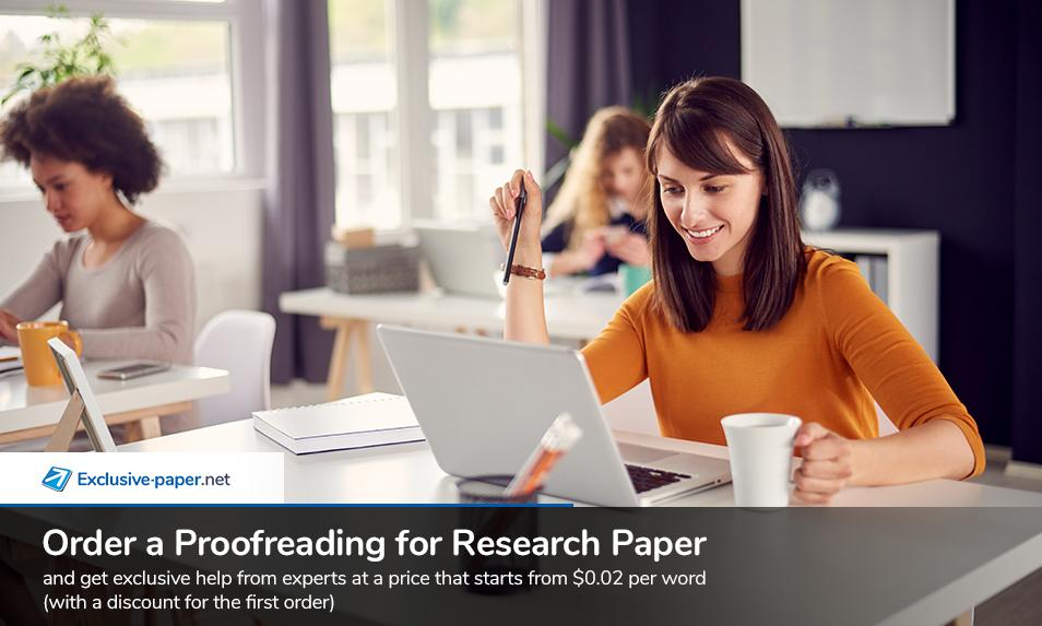 Order a Proofreading for Research Paper