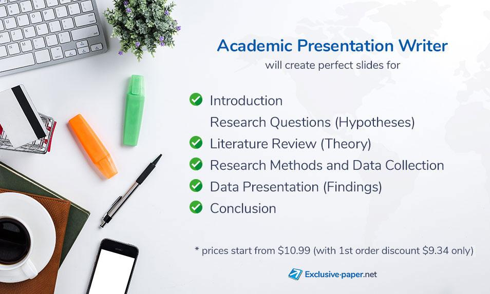 Exclusive Academic Presentation Writer