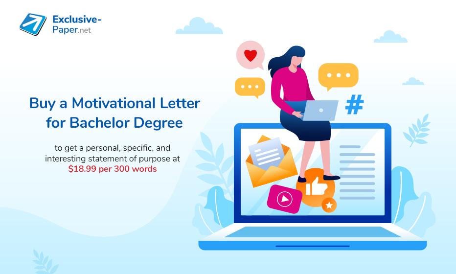 Buy a Motivation Letter for Bachelor Degree