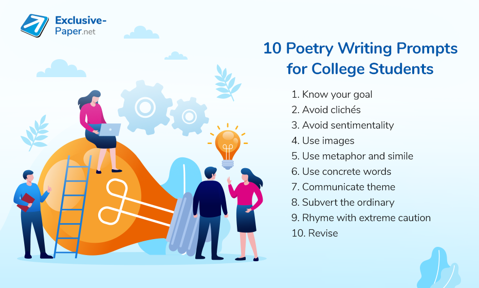 10 Poetry Writing Prompts for College Students