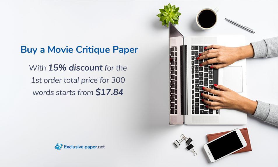 Buy a Movie Critique Paper