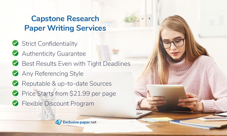 Capstone Research Paper Writing Service