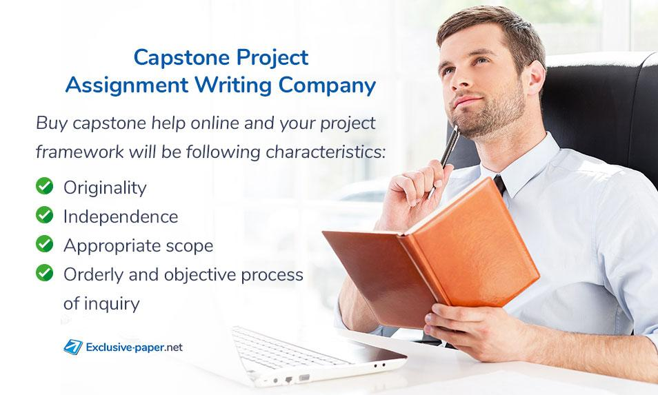 Capstone Project Assignment Writing Company