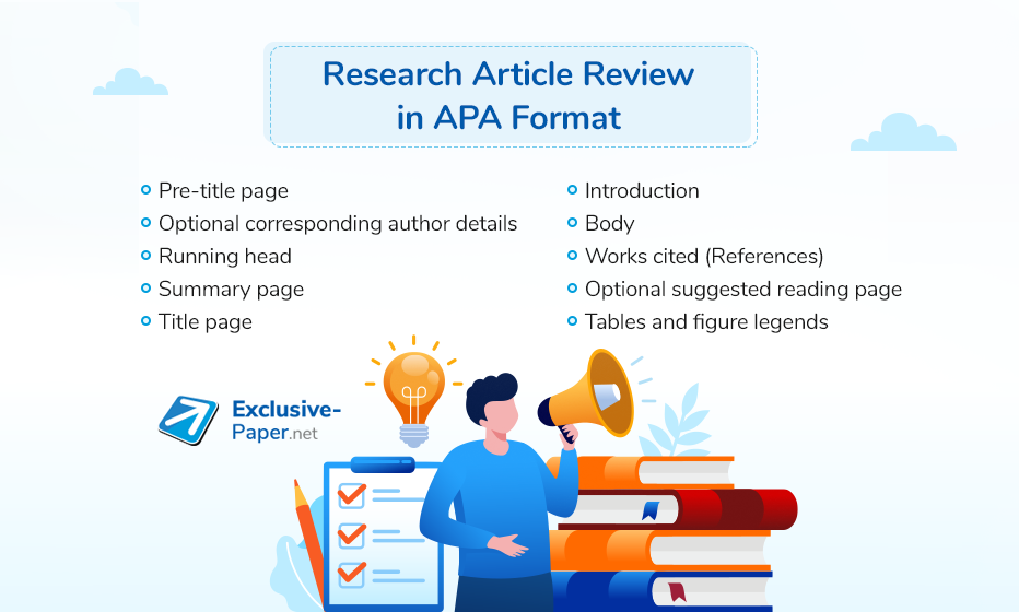 Research Article Review in APA Format