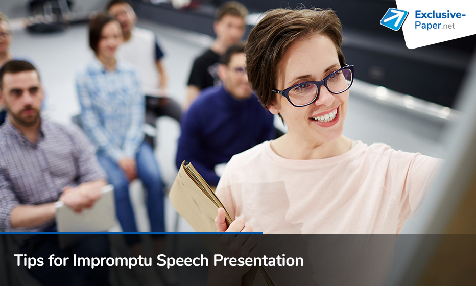7 Tips for Impromptu Speech Presentation
