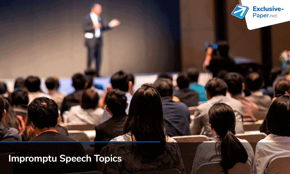 59 Exclusive Impromptu Speech Topics