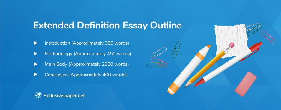 Extended Definition Essay Outline